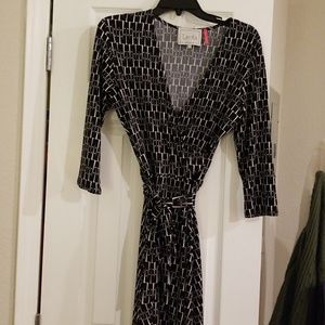 Leota wrap dress perfect condition